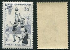 Timbre FRANCE neuf TB** YT n° 1072 - Sport : BASKET-BALL - 1956