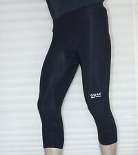 Gore Bike Wear Ladies Cycling Road MTB Tights 3/4 Length Leggings Padded Size 34