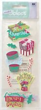NIP CHRISTMAS GIFTS A TOUCH OF JOLEE'S DIMENSIONAL STICKERS CANDY CANES PRESENTS
