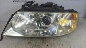 Driver Left Headlight Xenon HID Fits 00-01 AUDI A6 903558