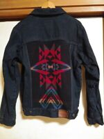 PENDLETON Authentic 1990's Vintage Native Denim Jacket Size S Used from Japan