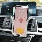 Car Air Vent Phone Holder Mount Bling Crystal Rhinestone Auto Car Accessories