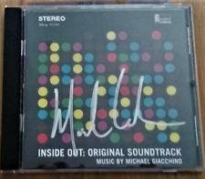 INSIDE OUT Soundtrack Score Signed Michael Giacchino Disney Pixar New
