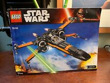 Lego 75102 - Star Wars Poe's X-Wing Fighter Manual Instructions Only