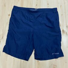 "Vintage Nike Lined Swim Trunks Board Shorts Men's XL Navy Blue 44"" waist"