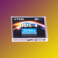 TDK DDS 4, DC4-150S, 20/40 GB, Data Cartridge, Datenkassette, NEU & OVP