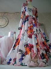 Coast New Tags size 16 floral wrap, maxi dress wedding occasion