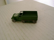 MATCHBOX MOKO LESNEY #49A ARMY M3 PERSONNEL CARRIER MW C/A METAL ROLLERS