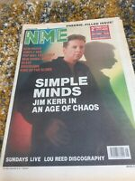 NME 4 February 1989 - Simple Minds, New Order, New Model Army, Sundays, Lou Reed