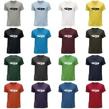 STUFF4 Men's Round Neck T-Shirt/Stencil Car Art / TR6/CS