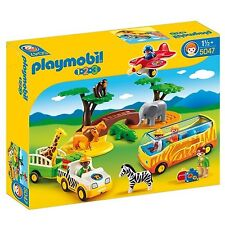 Playmobil 5047 1.2.3 Safari Set - Multi-Coloured