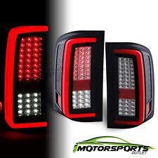 2007-2014 Chevy Silverado 1500 2500 3500 Red/Smoke LED Tail Lights Pair