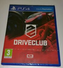 DRIVECLUB PS4 Neuf Scellé UK PAL VERSION jeu Sony PlayStation 4 DRIVE CLUB Racin