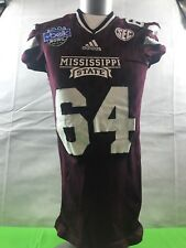 Mississippi State Bulldogs Football Jersey Game Issued Game Worn Belk Bowl