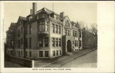 Fall River MA Boys Club House c1910 Postcard