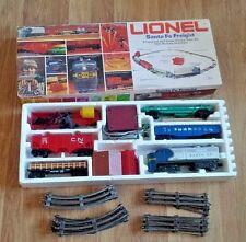 Vintage Lionel Santa Fe Freight Train Set Tracks Original Box Engine 027 Gauge