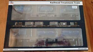 Hattons H4-RHTT-001 Rail Head Treatment Train 2 Wagons & Modules Sandite 2 Pack