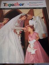 Vintage TOGETHER For Methodist Church Christian Families Magazine 1958 June