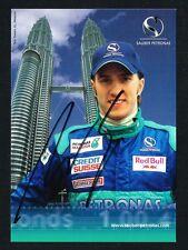 Nick Heidfeld signed autograph auto 4x6 Small Photo / Postcard