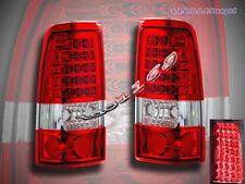 99 00 01 02 GMC SIERRA /99-03 CHEVY SILVERADO 1500/2500 LED TAIL LIGHTS