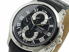 MENS BRAND NEW SEIKO PREMIER CHRONOGRAPH WATCH SPC067P2 RRP £395
