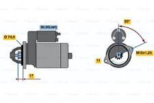 Bosch Remanufactured Starter Motor 0986021530 2153 - GENUINE - 5 YEAR WARRANTY