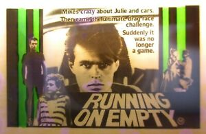 RUNNING ON EMPTY 1982 Rare Australian cinema glass slide Terry Serio Max Cullen