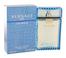 Versace Man Eau Fraiche Men 6.7 6.8 OZ 200 ML Eau De Toilette Spray Box Sealed