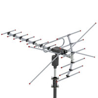 HDTV 1080P TV Antenna Amplified Digital TV Antenna 180Miles Long Range Outdoor