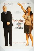 BRINGING DOWN THE HOUSE 27x40 Original DS Rolled Movie Poster 2003 STEVE MARTIN