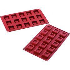 Moule silicone mini carrés