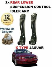 FOR JAGUAR X TYPE 2001->NEW 2 x REAR AXLE LOWER FRONT TRACK CONTROL IDLER ARM