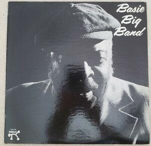 Count Basie BASIE BIG BAND LP Pablo 1975 VG+