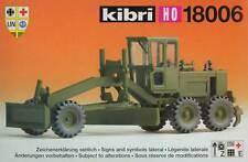 Kibri 18006 - O&K GRADER Bundeswehr Militär Armee 1:87 H0 * NEU
