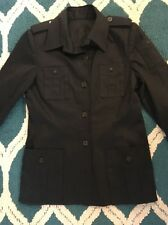 Zang Toi 8 M Black Blazer Jacket Couture Military Shopbop Saks Anthropologie