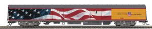 MTH 60090 UNION PACIFIC Heritage Fleet ACF BAGGAGE CAR #5779 w/ FLAG NIB