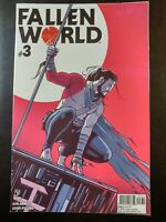 ⭐️ FALLEN WORLD #3c (2019 VALIANT Comics) VF/NM Book