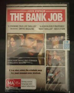 The Bank Job  DVD New And Sealed Region 4 - Jason Statham - Free Postage