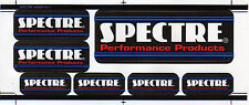 Vintage Spectre Performance Products Mini Decal Sheet 7 Decals