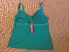 Monsoon Emerald Strappy Top Size 16 Brand New