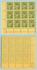 Latvia 1931 SC 155 MNH block of 12 . rta7507