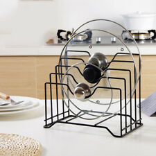 Kitchen Tool Knife Cutting Chopping Board Rack Pot Lid Pan Cover Holder Storage