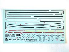 Esci 9101 Vintage Decals AC-130H Spectre II 1:72 modellismo