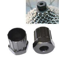 Black Bike Rear Cassette Cog Remover Cycle Repair Tool Freewheel-Socket#