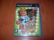 BUZZ! EL GRAN CONCURSO DE DEPORTES PS2 (PAL ESPAÑA PRECINTADO)