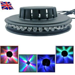 5W USB RGB Sound Activated Rotating Disco Light LED Ball Party Stage Strobe Lamp