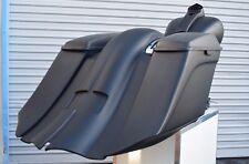 "7"" Stretched Saddlebags & Rear Overlay Fender For Harley Davidson Touring 97-08"