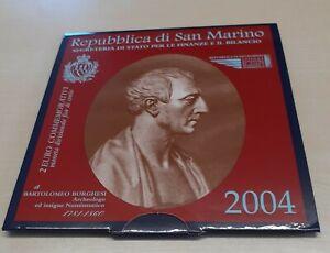 San Marino Commémorative Dans Dossier (Choisissez Entre 2004 - 2020)