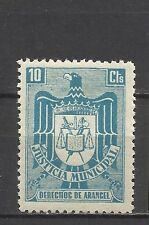 0477-SELLO FISCAL ESPAÑA 1940 ETAPA FRANQUISTA JUSTICIA MUNICIPAL 10 CT NUEVO **