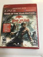Dead Island Game of the Year Edition PS3 Playstation 3 Brand New Factory Sealed
